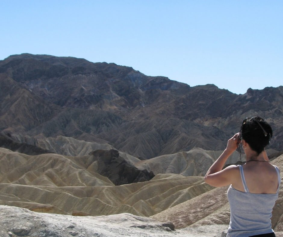 Anne in Death Valley